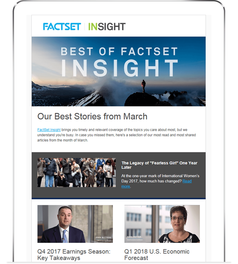 news and research factset insight