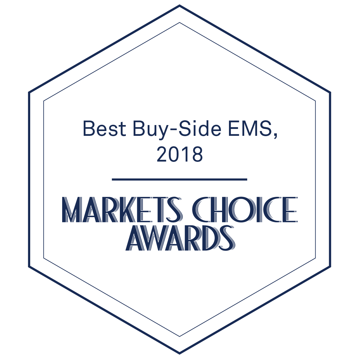 Markets Media Markets Choice Awards Best Buy-Side EMS 2018